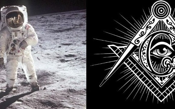 Connection Between The Moon Landing and Masonic Ritual