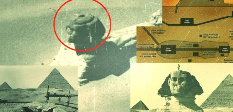 Secret Chambers Were Revealed Under The Pyramids And The Sphinx