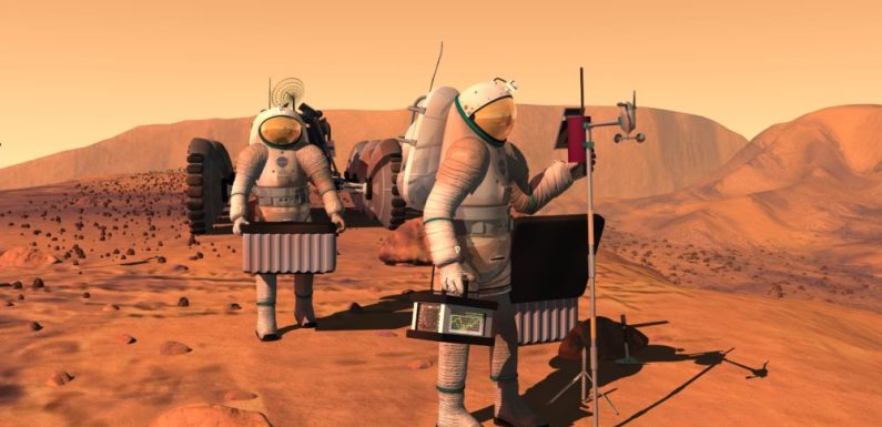 ARE MEN ALREADY ON MARS? Ex NASA Agent Claims They Are!