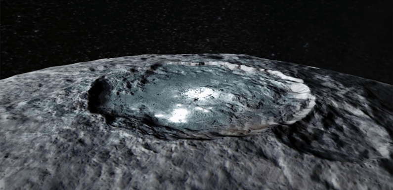 NASA Discovers Alien Light Spots On The Dwarf Planet Ceres