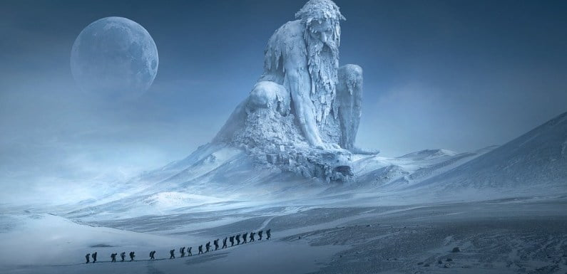 Strange Castle-Like Structure Emerges In Antarctica – Proof Of Advanced Ancient Civilization?