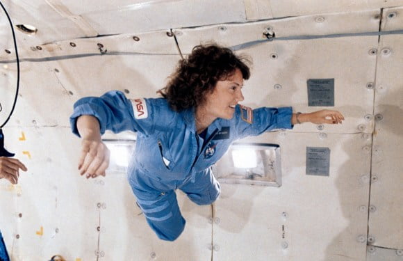 Late Christa McAuliffe's Space Lessons Finally Completed In Space