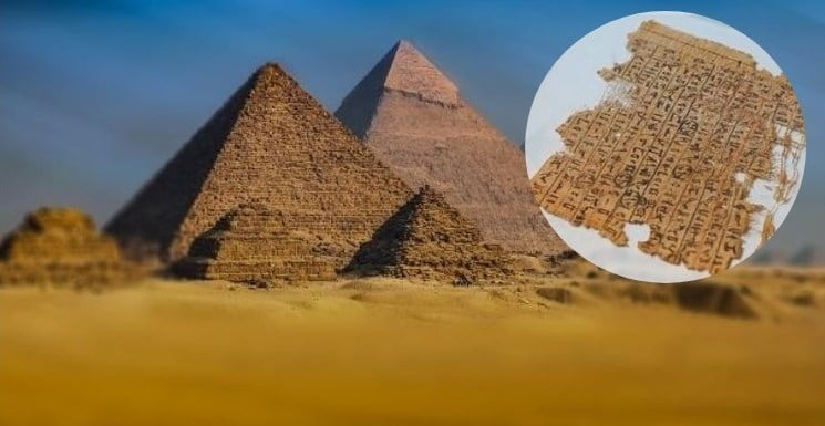 Ancient Egyptian Papyrus Tells The Story Of The Pyramids' Construction