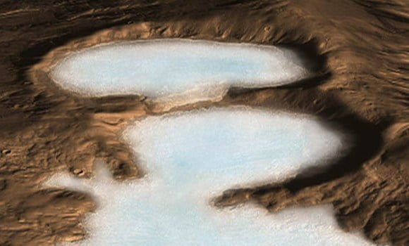 Researchers Identified Huge Water Reserves All Over Mars