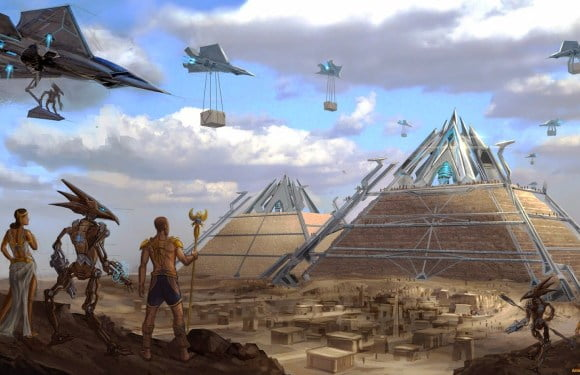 Fantastic Documentary Reveals How Ancient Aliens Built The Pyramids of Ancient Egypt