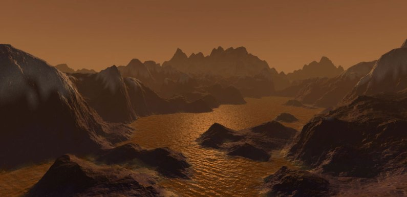 Aliens Breathe Vinyl Cyanide? Saturn's Titan Has Molecules That Can Form Membranes