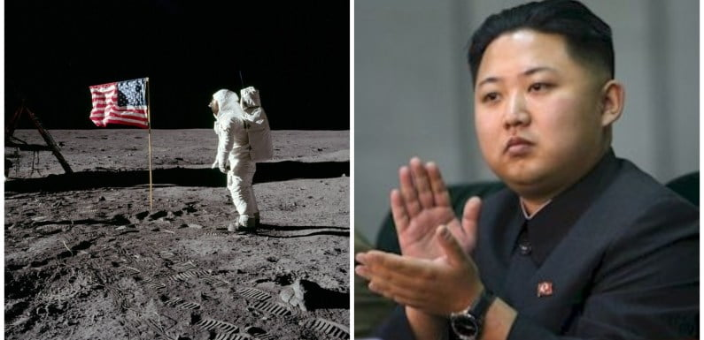 North Korea Threatens To Expose Secret Data On American Moon Landings