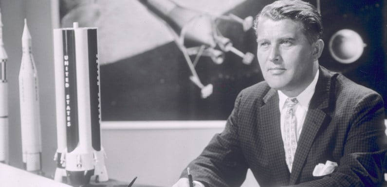 German Scientist Von Braun Predicted Elon Musk Would Be Linked To Red Planet's Colonization