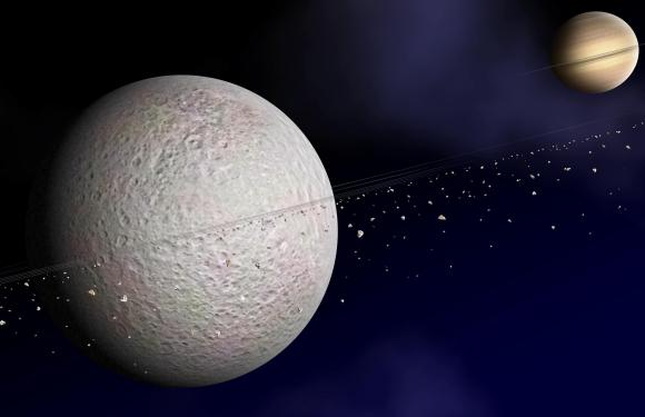 Extraterrestrial Rocky Planets With Rings May Hide In Plain View
