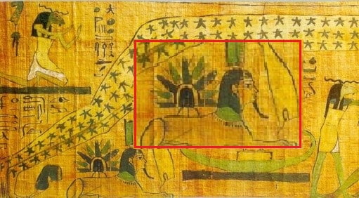 Ancient Egyptian Papyrus Shows UFO Landing On The Sphinx