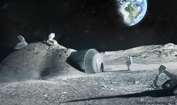 There Are Alien Buildings On The Moon, Claims A Researcher