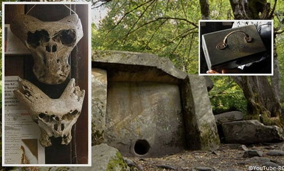 Alien Skulls Found Near A Nazi Briefcase In Isolated Russian Mountain