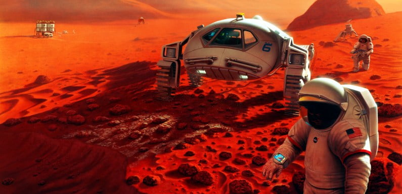 Project Redsun: Astronauts Went To The Red Planet Without Telling Us