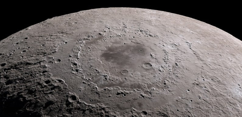 NASA Finds A Vast Rectangular Formation Under The Moon's Surface