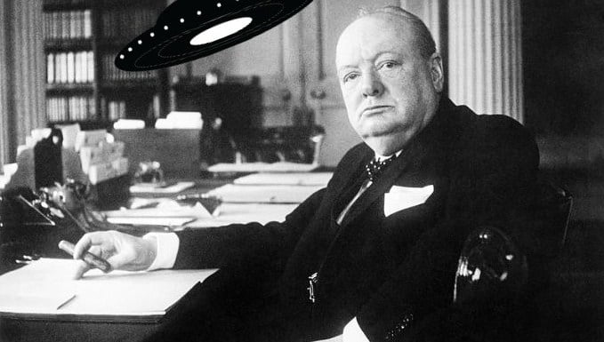 Did Churchill & Eisenhower Conceal UFO Encounters During WWII?