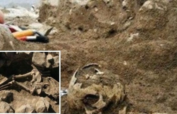 Ancient Giant Buried With His Belongings Unearthed In Iran
