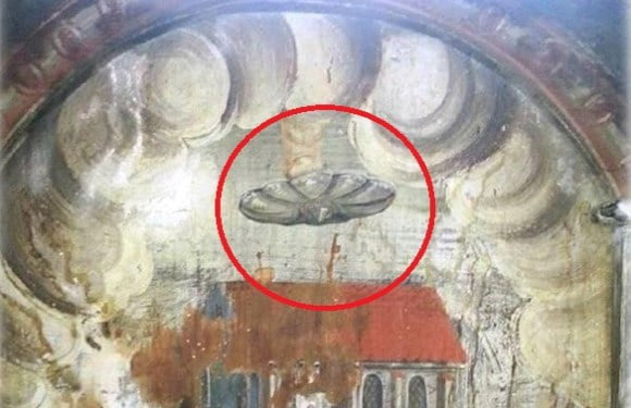 Historic Paintings That Clearly Depict UFOs (Part II)